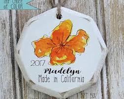 california ornament etsy