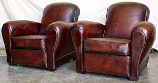 Leather Club Chair French Club Chairs