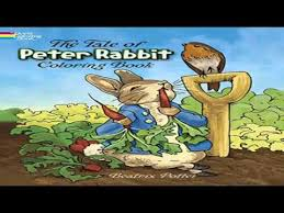 tale peter rabbit coloring book dover classic stories