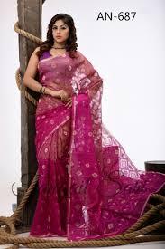 jamdani sharee silk jamdani saree