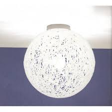 Globes For Ceiling Lights Brilliant Reload Italian Design Large White Flush Globe Ceiling