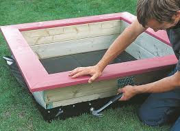 Build A Sandpit In Your Backyard How To Build A Wooden Sandpit Help U0026 Ideas Diy At B U0026q