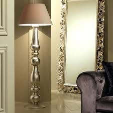 modern floor lamps floor lamps contemporary designer italian chrome crystal floor