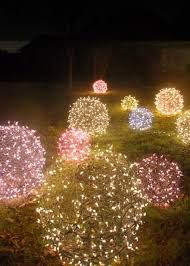 outdoor christmas light balls diy christmas light balls lawn ornaments lawn and diy christmas