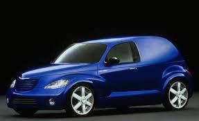 chrysler crossover chrysler panel cruiser concept auto shows news car and driver