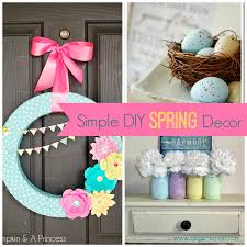 Easy Room Decor I Dig Pinterest Simple Diy Spring Decor Ideas Find Out How To Make
