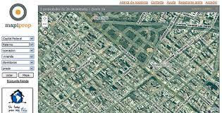 imagenes satelitales live los mapas satelitales al servicio de la búsqueda de propiedades