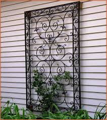 outdoor wall decor wrought iron large outside cool pertaining to