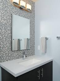 mosaic tiled bathrooms ideas backsplash bathroom entrancing post bathroom glass tile