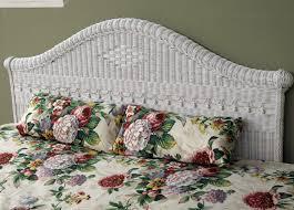 King Wicker Headboard Fancy White Wicker Headboards 57 With Additional King Size Bed