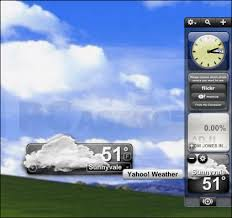 gadget bureau meteo pc astuces personnaliser le bureau de windows avec des widgets
