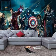 chambre marvel marvel héros photo papier peint 3d papier peint enfants