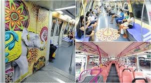 themed pictures singapore celebrates diwali with these gorgeously themed buses and