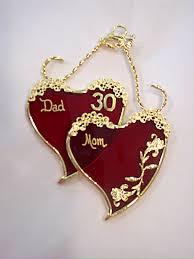 30 wedding anniversary 30th wedding anniversary gifts by juhlin glass studio