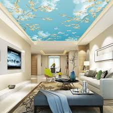 3d Wallpaper For Living Room by Compare Prices On Sky Wallpaper For Ceilings Online Shopping Buy