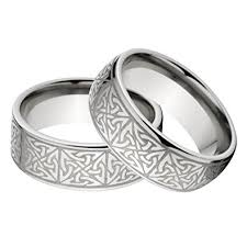 celtic rings new his and s matching celtic ring set celtic wedding rings