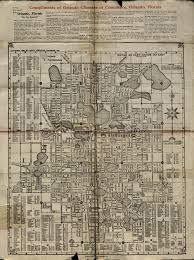 Orlando Florida Map 1937 Orlando Chamber Of Commerce Map Orlando Memory