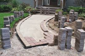 Small Paver Patio by Artistic Landscapes Com Blog Paver Patio U2013 Concrete Sand