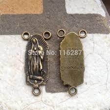 catholic supplies 50pcs 30mm antique bronze rosaries supplies catholic religious