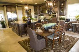 Large Wooden Kitchen Table by 39 Fabulous Eat In Custom Kitchen Designs