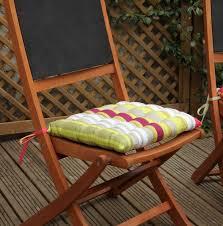 galette de chaise de jardin chaise de jardin en bois avec galette de chaise photo 8 15