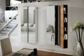 Modern Cabinet Living Room by Awesome Modern Mirrors For Living Room Using Mirror Storage