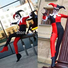 harley quinn jumpsuit best arkham harley quinn costume products on wanelo