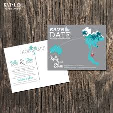 Thailand Wedding Invitation Card Thailand Save The Date Koh Samui Destination Wedding