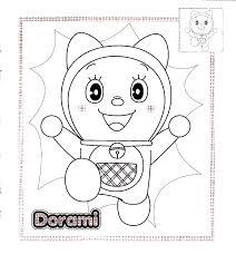 doraemon color pages