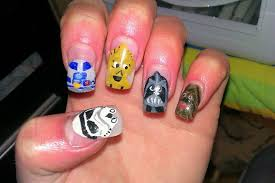 star wars nail art gallery