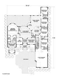luxury home floor plans with pictures traditional mediterranean style home floor plan 3985 01113