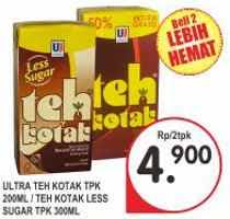 Teh Kotak Di Superindo promo harga teh kotak melati terbaru hemat id