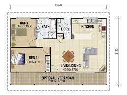 granny houses granny flat plans designs house queensland home building plans
