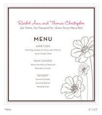 program for wedding reception custom wedding reception suite printable table cards menu