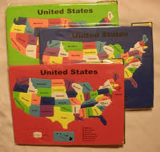 Usa Puzzle Map by United States Of America Usa Puzzle Map Non Toxic Foam Random