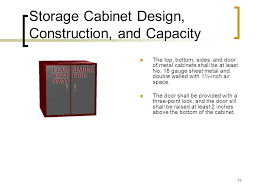 Fuel Storage Cabinet Flammable And Combustible Liquids Ppt Download