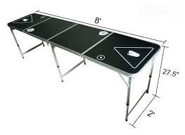 beer pong table size cm beer pong table size nz moneyfit co