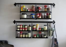 kitchen spice rack ideas wall mounted spice rack ikea montserrat home design