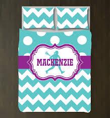 teal bedding for girls custom girls lacrosse chevron u0026 polka dot bedding set u2013 shop