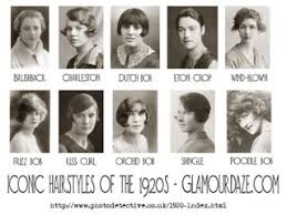 1920s womens hairstyles 1920 s women s fashion thinglink