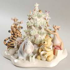 Winnie The Pooh Christmas Tree Decorations Lenox Winnie The Pooh Collection At Replacements Ltd