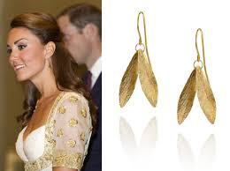 white gold earrings malaysia replikate review gold leaf earrings for the copper leaf season
