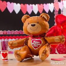 valentines day teddy valentines day teddy balloon idea valentines day balloon