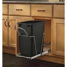 rev a shelf rv 12pbc 18rb 5 35 qt plastic pull out trash can