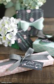 mint wrapping paper printable s day wrapping paper and gift tags by lia griffith
