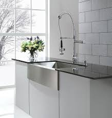 Industrial Kitchen Sink Kraus Khf200 36 Farmhouse Kitchen Sink And Kpf1602 Commercial
