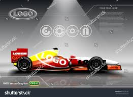 car ads in magazines race car ads template mock up stock vector 578222758 shutterstock