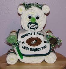 pro sports themed baby diaper cakes nfl mlb themed