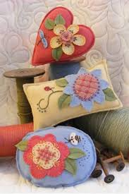 pin cushions for every occasion kits and patterns in wool