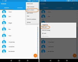 from android 3 ways to transfer contacts between android phones